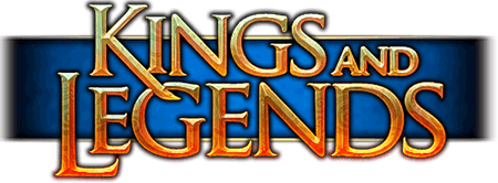 Kings and Legends - taktisches Sammelkarten−MMORPG