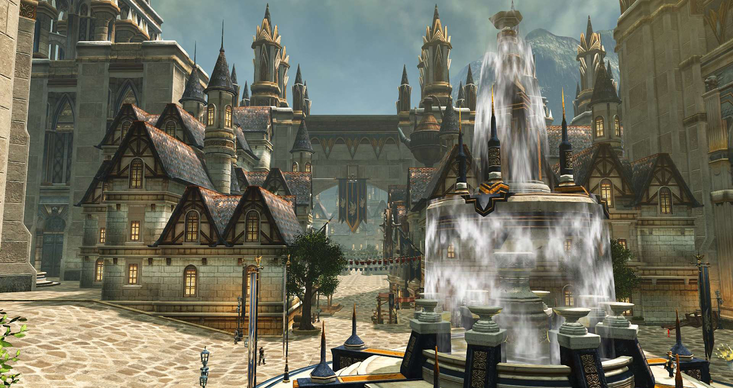 Savage Hunt - Located in the south-west of Puretia, this is one beautiful city.