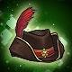Musketeer Hat (5% Crit)(6% Dmg)(30 Days)