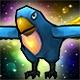 Jacko, der blaue Papagei (+25 Stats)(30 Tage)