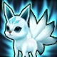 White Kitsune (Speed 200)(Permanent)