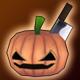 Pumpkin Hat (+1% Crit)(30 Days)