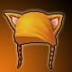 Pumpkin Kitty Hat (3% Crit)(30 Days)