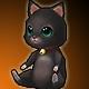 Mini Black Cat (+10 Stats)(30 Days)
