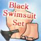 Black Swimsuit Set (12% Crit)(30 Days)