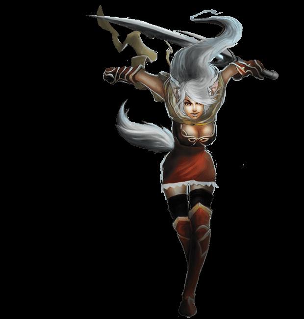 Kings & Legends – Female elf
