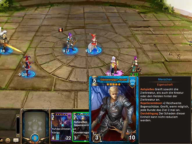 Kings & Legends Screenshot Dämonenjäger Azrael