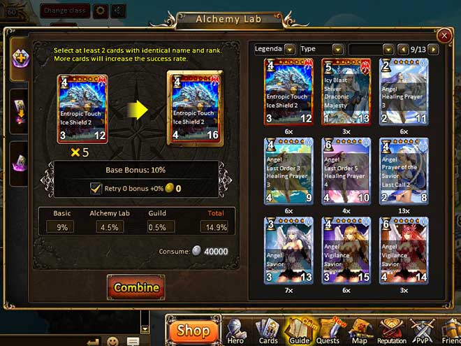 Kings & Legends screenshot Alchemy Lab