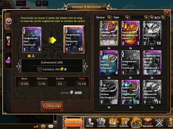 Kings & Legends Laboratoire d'Alchimie capture d'écran