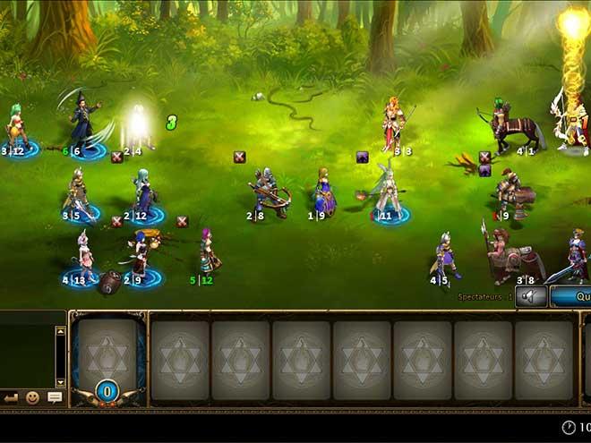 Kings & Legends Screenshot mode combat – 3 vs 3