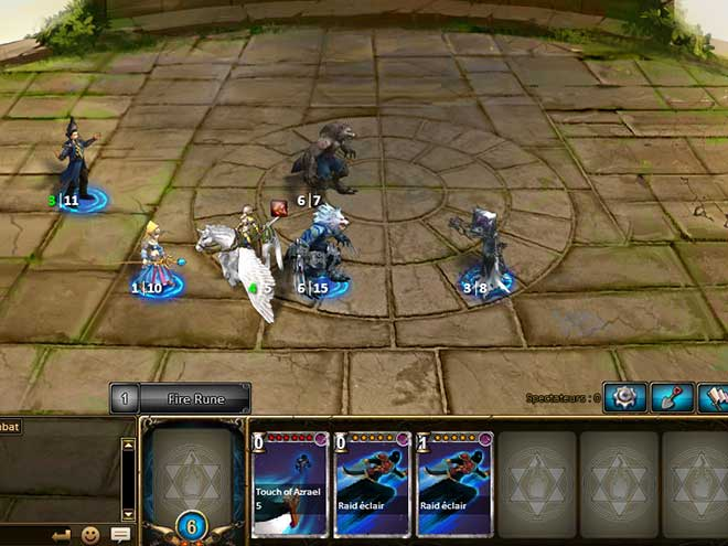 Kings & Legends Screenshot Arène