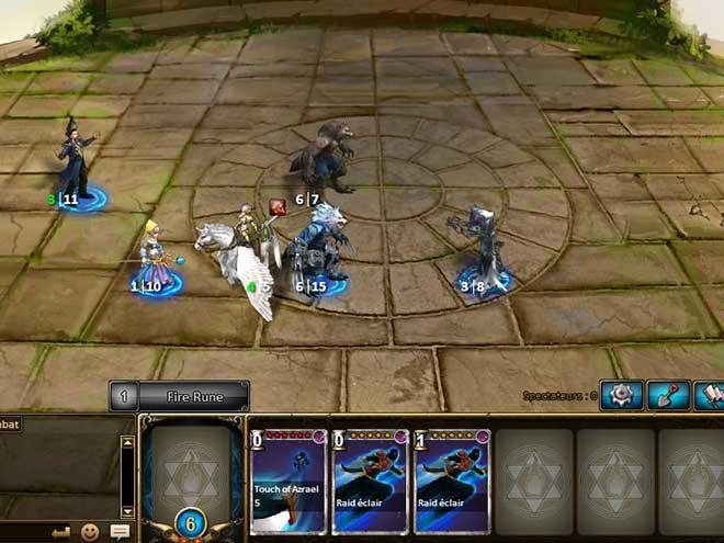 Kings & Legends capture d'écran Arène
