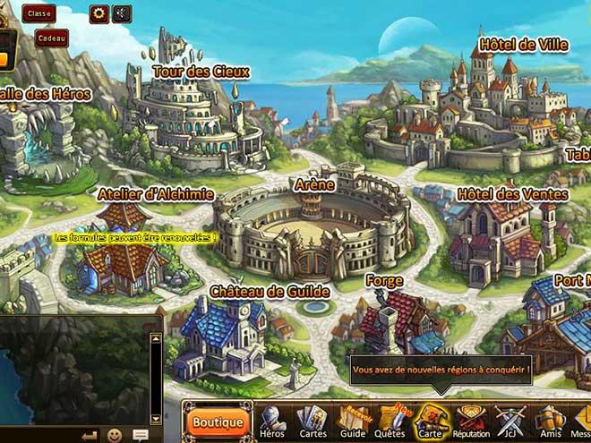 Kings & Legends capture d'écran Hôtel de Ville