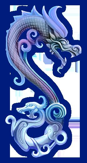 Loong Drachen links