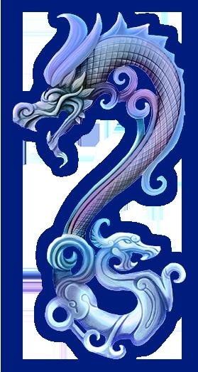 Loong Drachen rechts